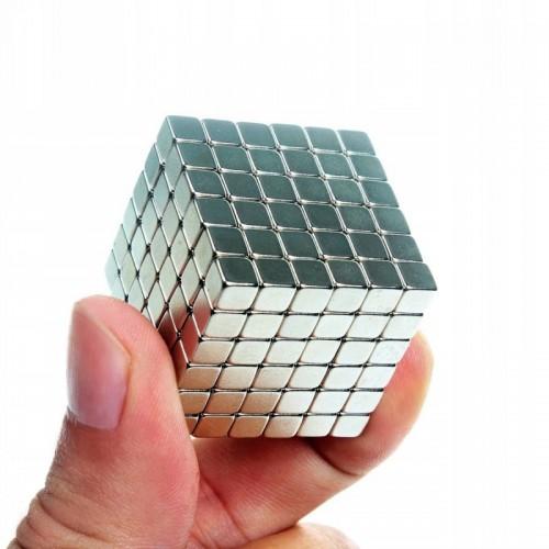 Klocki magnetyczne neocube 5 mm magnesy kwadratowe