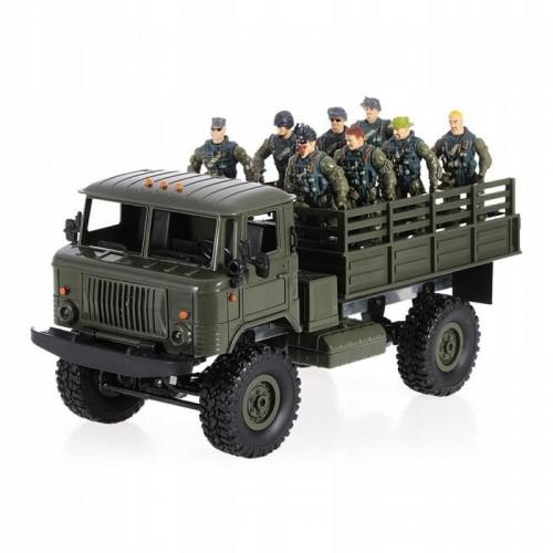 Ciężarówka wojskowa WPL B-24 Samochód Auto RC