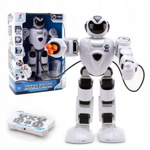 Robot zdalnie sterowany interaktywny strzelajacy ARRAS