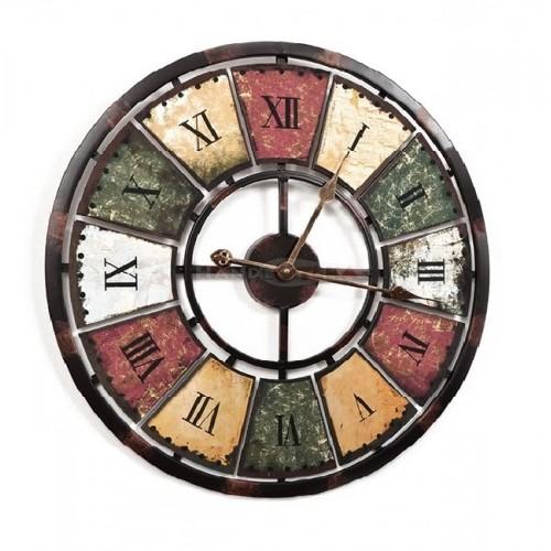 Niepowtarzalny Duży Zegar 60 cm Vintage