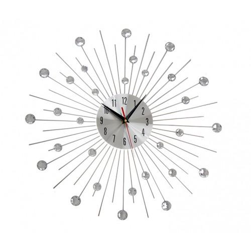 Zegar Kryształy 50 cm Cristal Diamenty 2 klasa