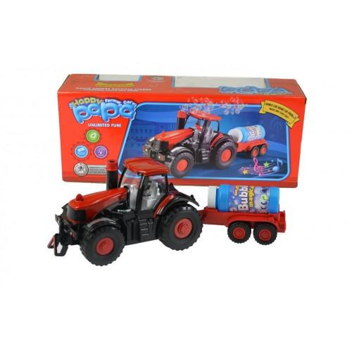 Traktor z Bańkami Mydlanymi