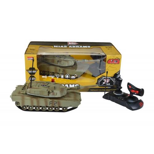 Czołg MIA2 Abrams 1:14 podczerwień Walka czołgów