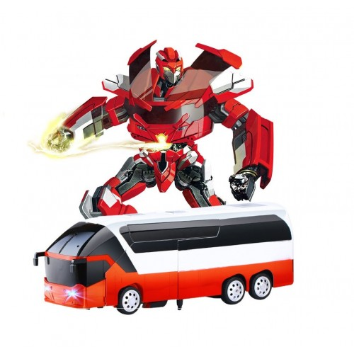 Sterowany Robot Autobus 2w1 Autobot