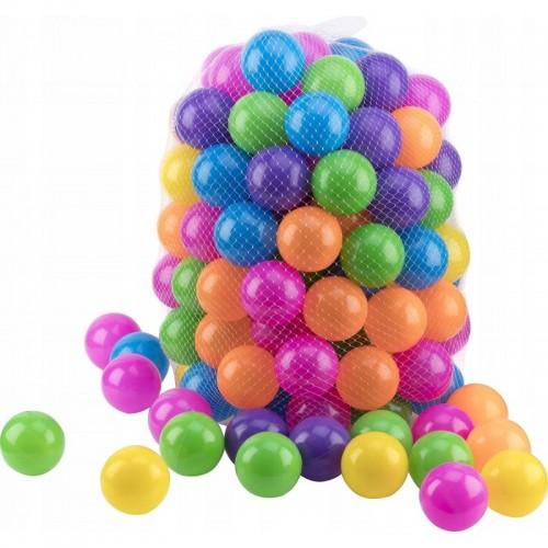 Piłeczki piłki do namiotu kojca lub suchego basenu 55 mm 100 szt