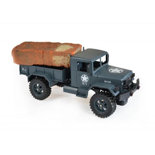 Duży samochód wojskowy 45 CM militarny Wltoys 124301