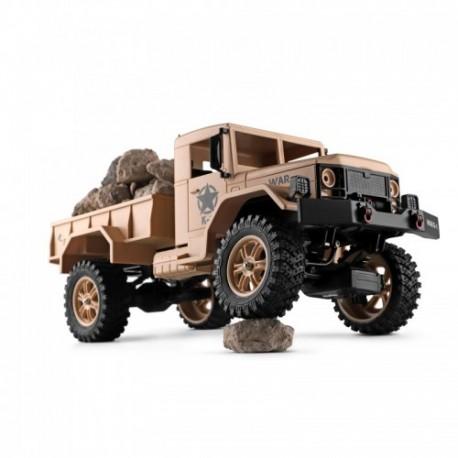 Samochód ciężarówka wojskowa Wltoys 124301 skala 1/12