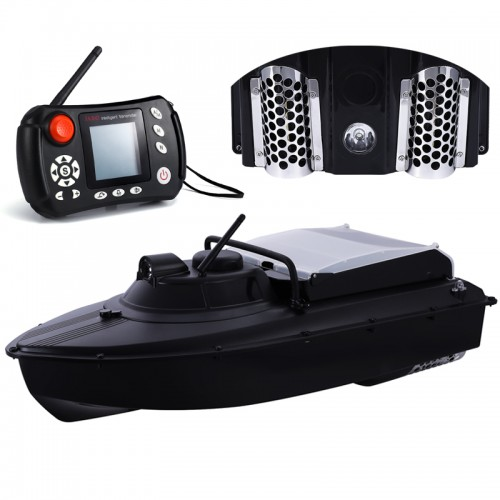 Łódka zanętowa Jabo 2BG echosonda autopilot gps