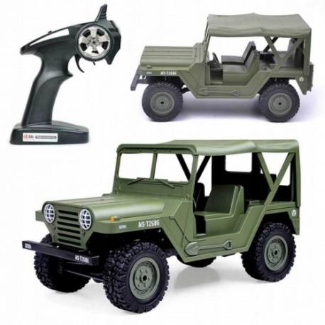 Samochód rc JEEP U.S M151 wojskowy subotech bg1522