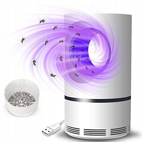 Moskiller lampa pułapka wabiąca na komary