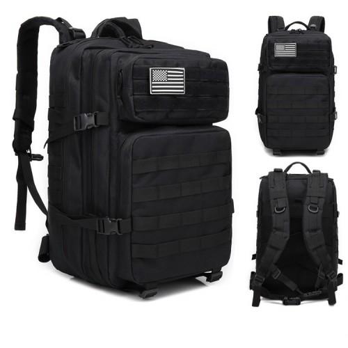 Plecak wojskowy taktyczny militarny pojemność 45 l czarny