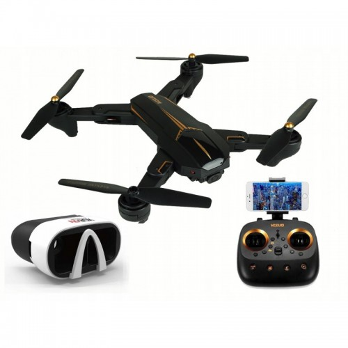Dron VISUO XS812 GPS Kamera 5 MPX Full HD