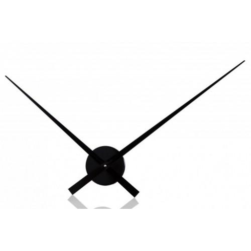Zegar do własniej aranżacji czarny
