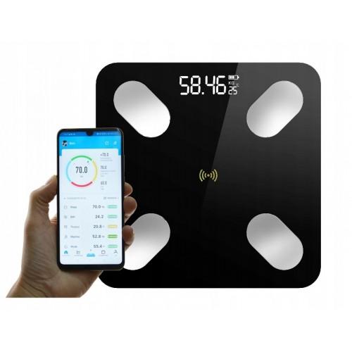 Inteligentna waga łazienkowa Smart 8w1 Z Bluetooth