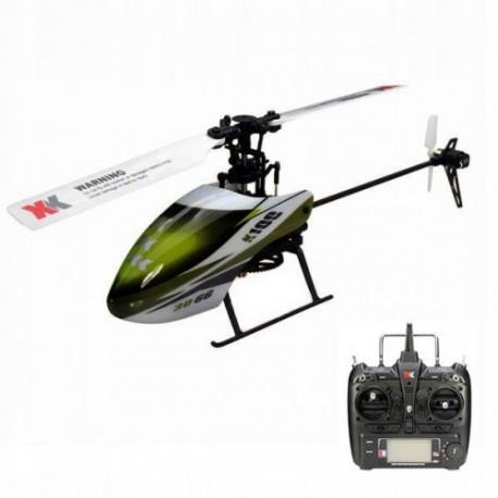 Helikopter XK K100 Śmigłowiec lot odwrócony 3d