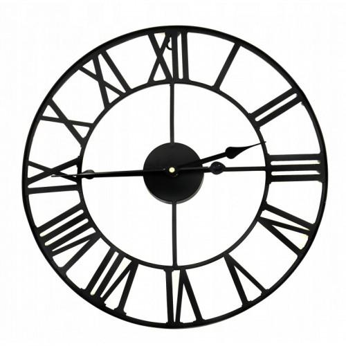 Metalowy zegar ścienny 40 CM vintage loft
