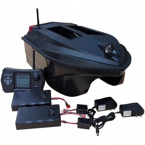 Łódź zanętowa Skywolf TL-380D Sonar + GPS pojemność 3 KG