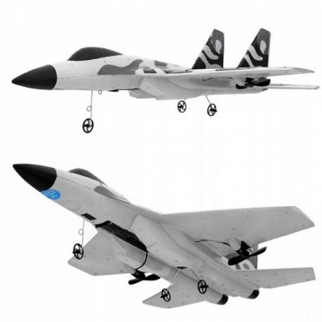 Samolot zdalnie sterowany SU-35 odrzutowiec wojskowy