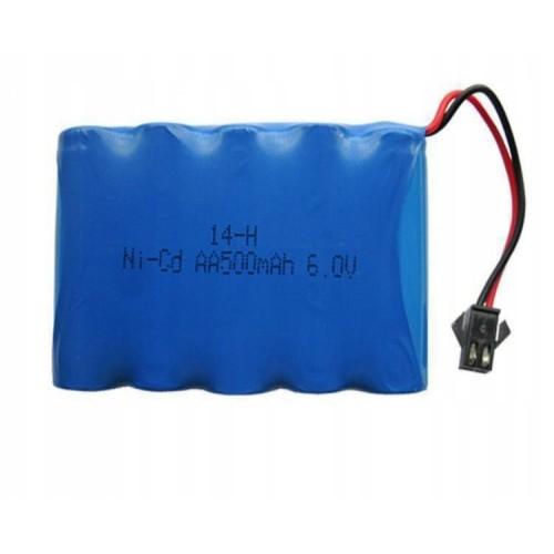 Akumulator bateria 6V 500 mah NICD do samochodu rc