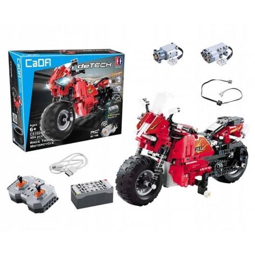 Motocykl klocki technic zdalnie sterowany Cada C51024W