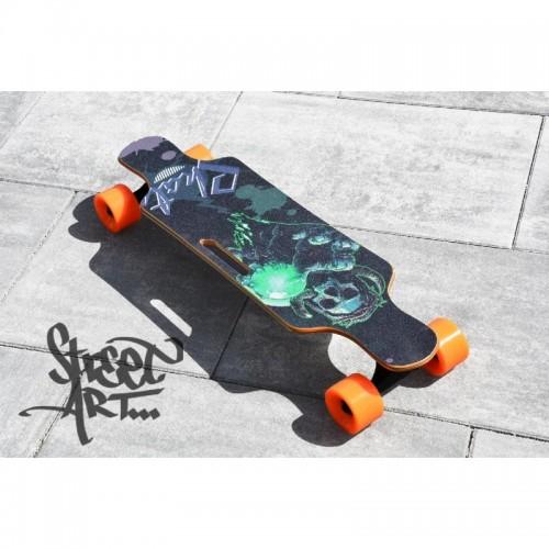 Deskorolka elektryczna 74 cm skateboard longboard e-deska