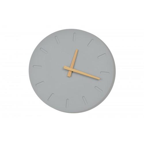 Zegar ścienny betonowy z mechanizmem ulta silent