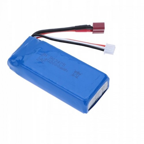 Akumulator bateria 2000 MAH 7,4 V Lion T-PLUG