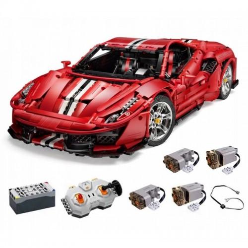 Klocki technic Ferrari Cada C61042W 3187 el. zdalnie sterowane
