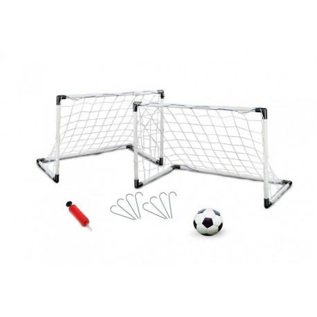 Bramki Do Piłki Nożnej 2w1 185x120x70 CM + Piłka