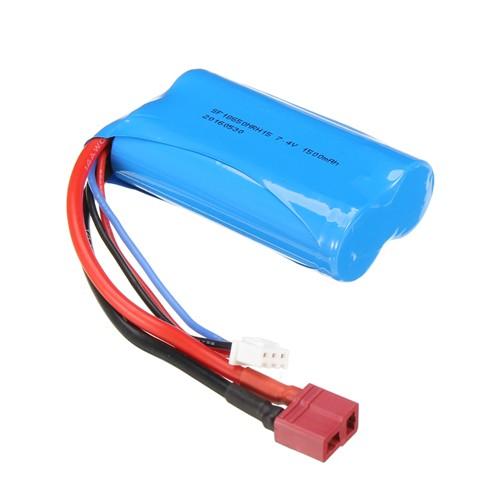 Akumulator bateria 1500 mah 7,4 V lipo 2a Tplug