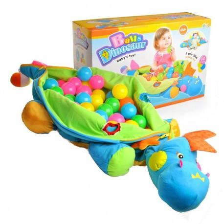 Dinozaur Pluszowy Kulki Piłeczki