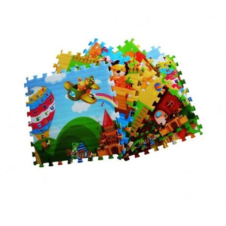 Mata Piankowa Puzzle 6 x 60 cm Grubość 15 mm