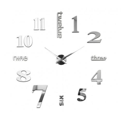 Nowoczesny Zegar Ścienny 65-120 cm Wzór Angielski