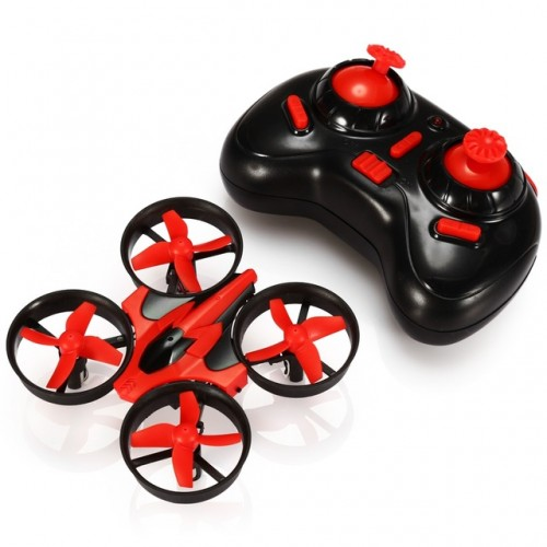 Mini Dron NH-010 quadrocopter z osłonami